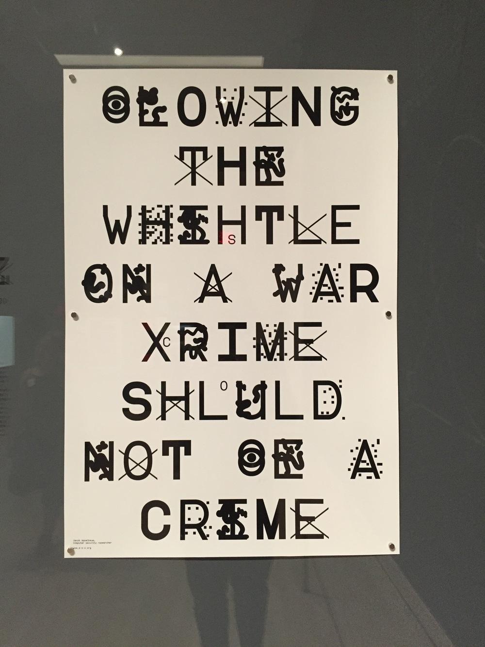 ZXX type specimen poster, designed 2012, printed 2016