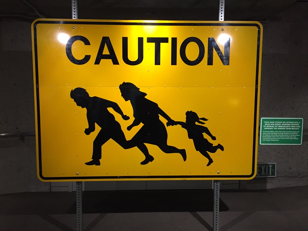 immigrants crossing