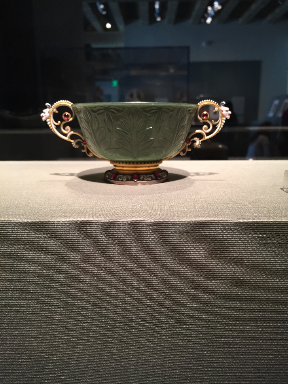 Cup with nineteenth-century French fittings