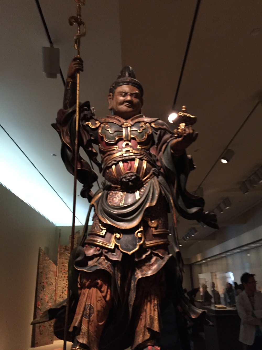Vaishravna (Japanese: Bishamonten), Guardian King of the North
