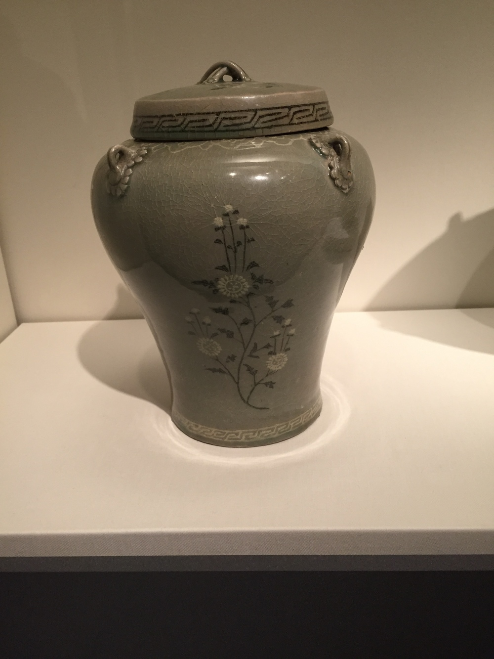 Jar with four ears