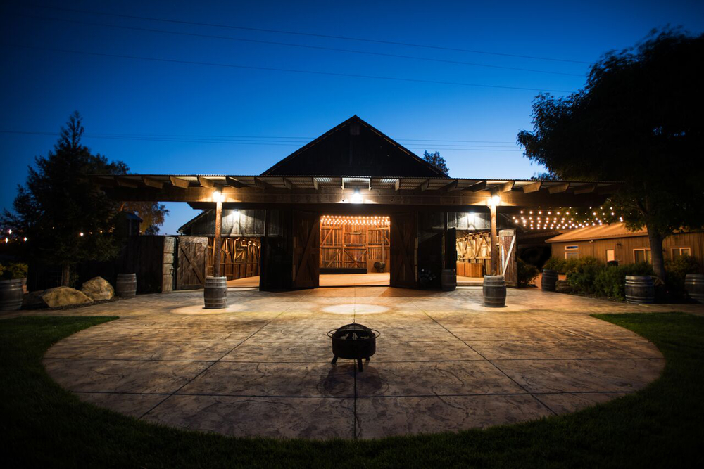 The Barn at Pepper Tree Ranch - Night