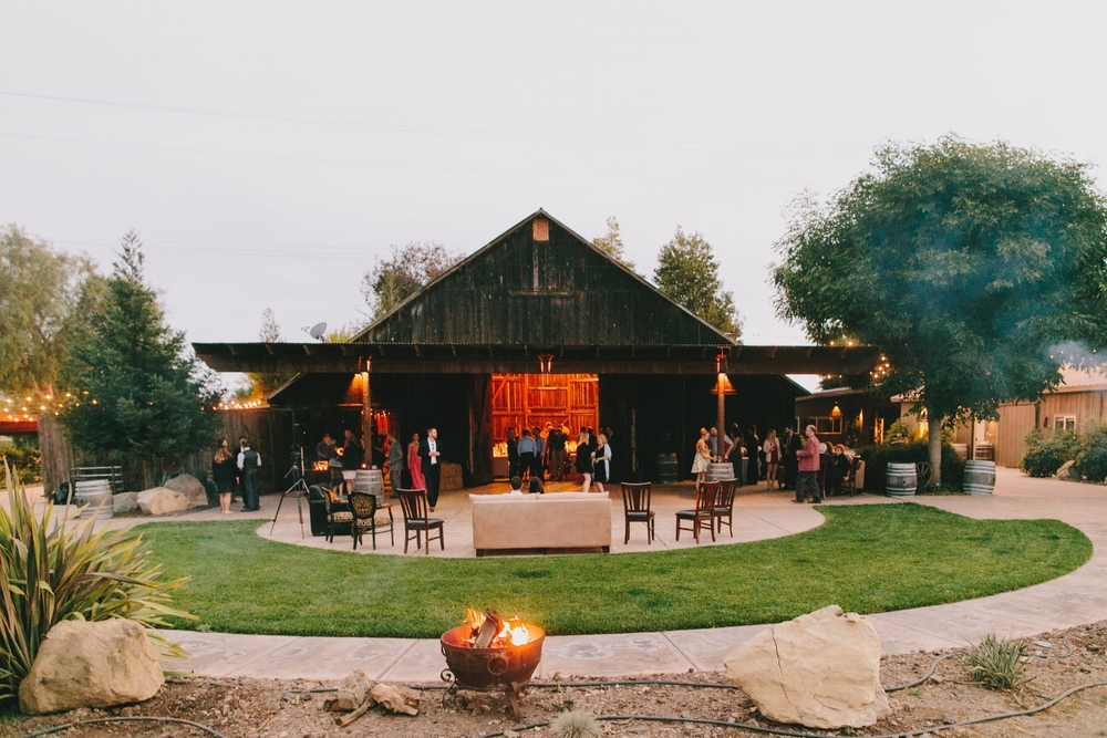 Indoor / Outdoor Wedding Reception