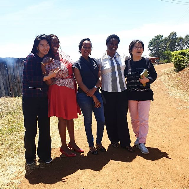 Black Pinks in Thiririka Farmers' Cooperative Society!!! 😍💗😘😂