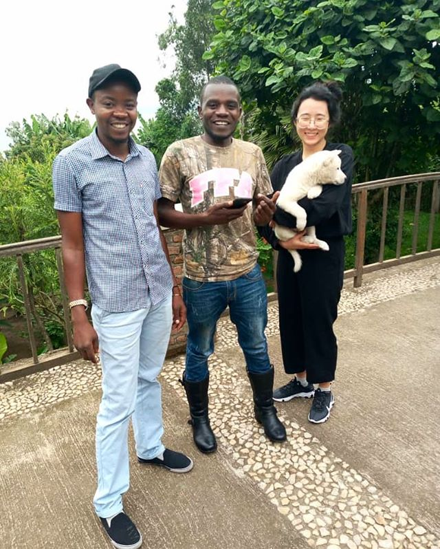 🇨🇩🇨🇩🇨🇩D.R Congo News🇨🇩🇨🇩🇨🇩 Karibu (welcome) to congo!! Patrick, Liza, Seulgi, Hangbok(🐶) are safely arrived Minova, D.R Congo.  Our team will be based full time in Minova to support farmers and make great coffee production 😊😍 ❤❤❤❤❤❤❤💙💙💙💙💙💙💛💛💛💛💛💛💛💛 Stay tuned🧚♀️🍓🍒🍑🍋🍊🍉🍈🍇🍎🦄🦄🦄🦄🦄🦄 Viva LetSequoia D.R Congo!!! #developmentthroughcoffee #drc #specialtycoffee #dreamteam  #letsequoia