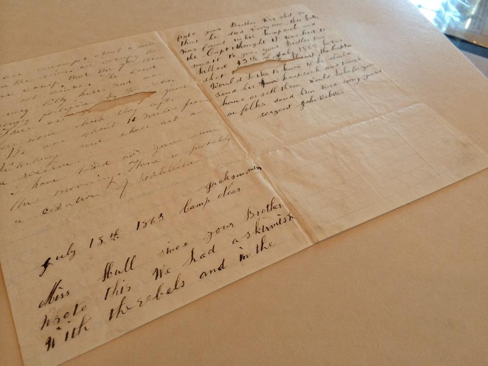Letters of John K. Hull