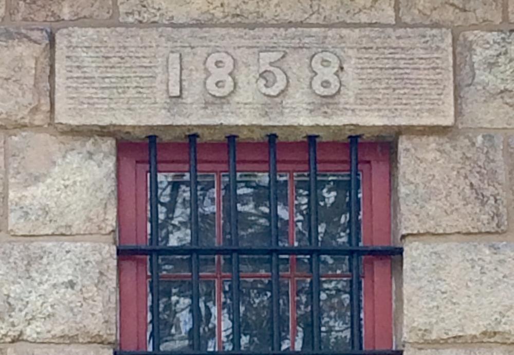 Cellblock exterior detail 2016