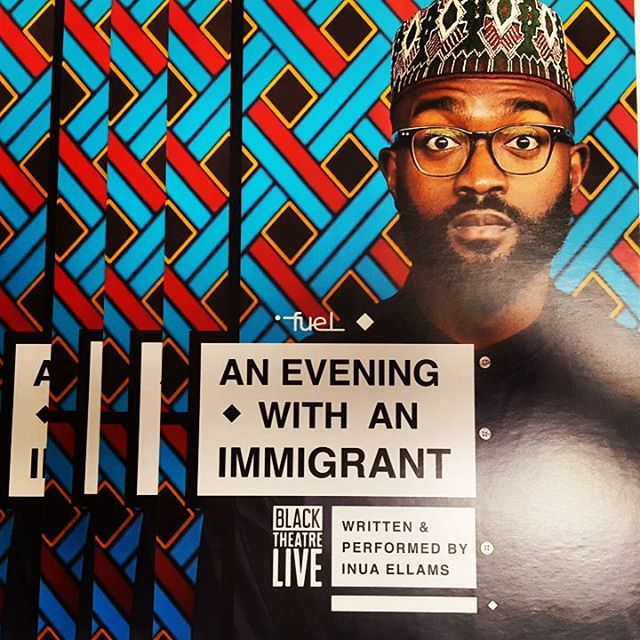 Wednesday 22nd March, Inua Ellams is in our fair city of Peterborough with his stunning show 'An Evening with an Immigrant'. Who's coming with us to see it?