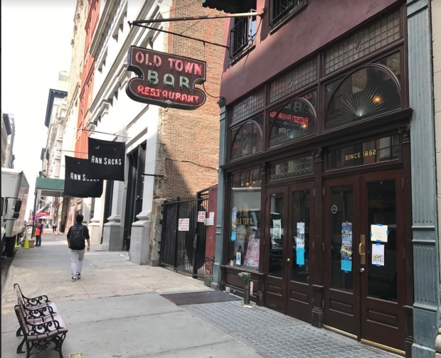 Old Town Bar was founded in 1892 and was a speakeasy during Prohibition.