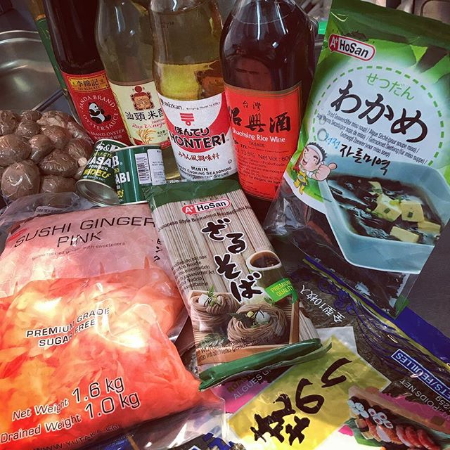 All the good stuff. For our Japanese pop up Friday night @broadcastglasgow #japanesefood #sushi #sobanoodles