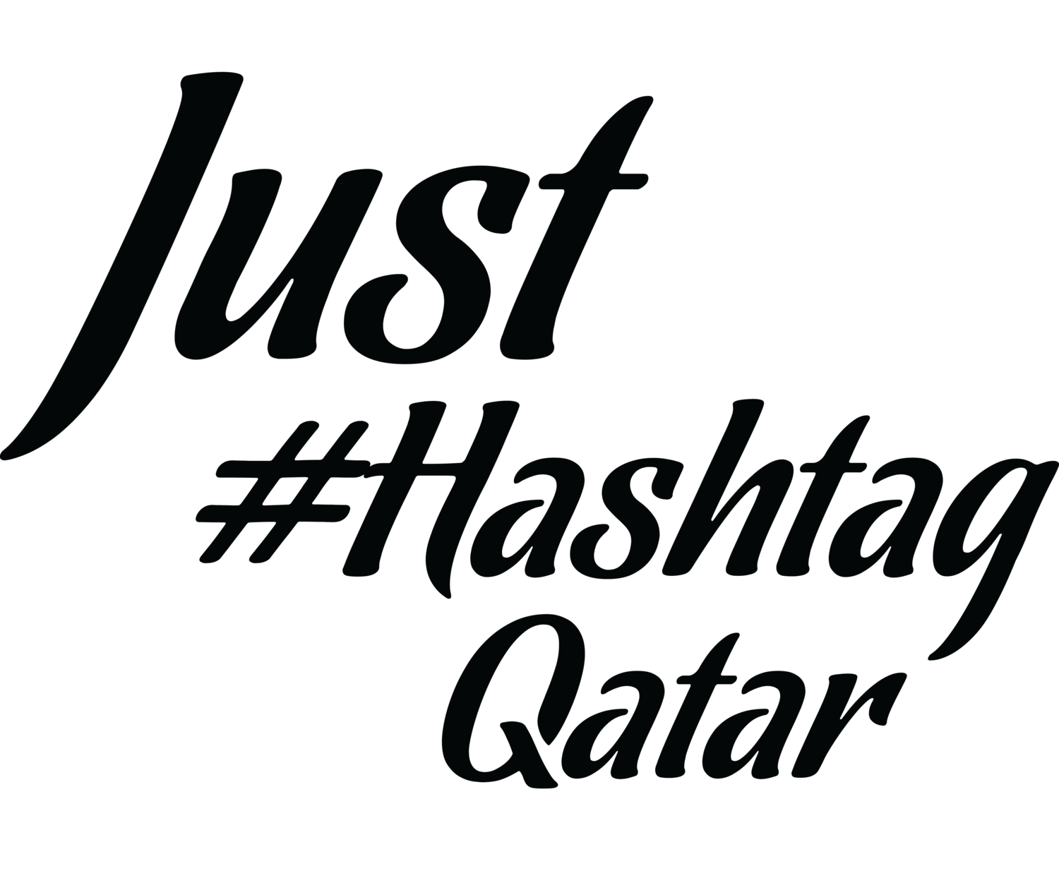 Just #Hashtag Qatar