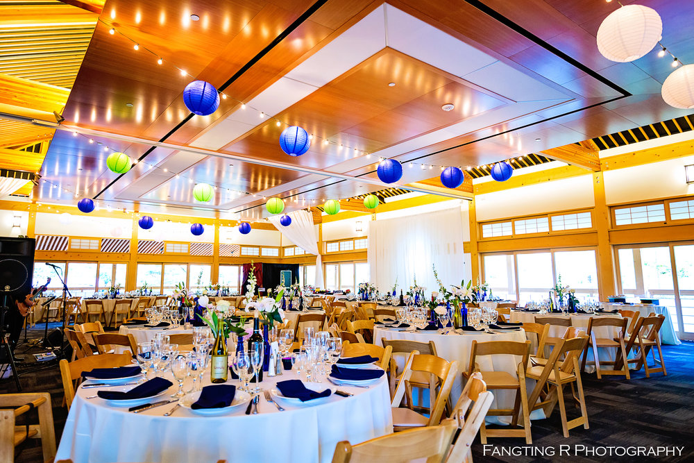 Photo Credit: Fangting R Photography Lighting, Drapes & Linens by: San Diego Linens