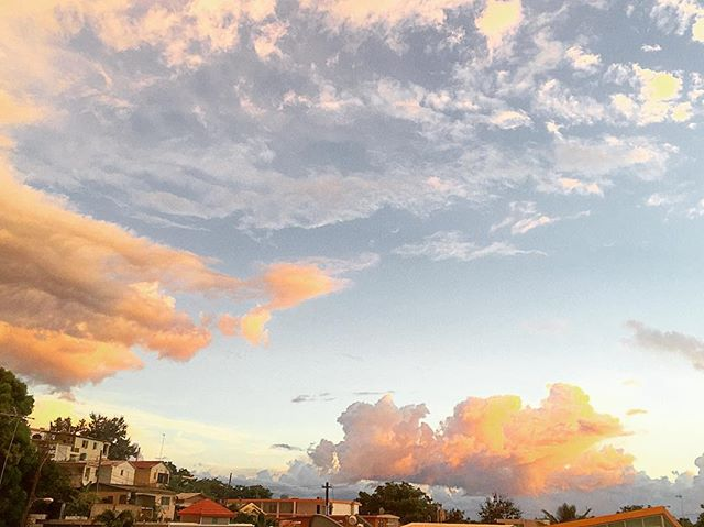 Urban sunsets bathe the streets in golden light. #sunsets #sunrise_sunsets_aroundworld #sunset #sunsetpuertorico #bella #sky #nature #clouds #quecheverepr #rincon #puertorico #travel #travelgram #adventure #wanderlust #wanderlust2016 #adventureisoutthere  #travelphotography #travelpuertorico #sunsethunter #pueblo #rinconlife #pueblos