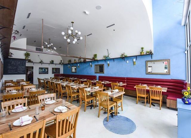 This was such a fun project to be a part of! Go check out this great restaurant with family style feasts and enjoy the ambiance at @locadoroaustin #pinnacleconstruction #generalcontractor #buildingupaustin
