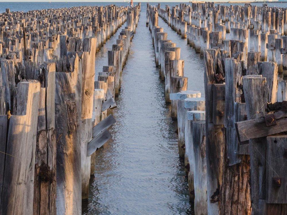 Princes Pier, Melbourne.