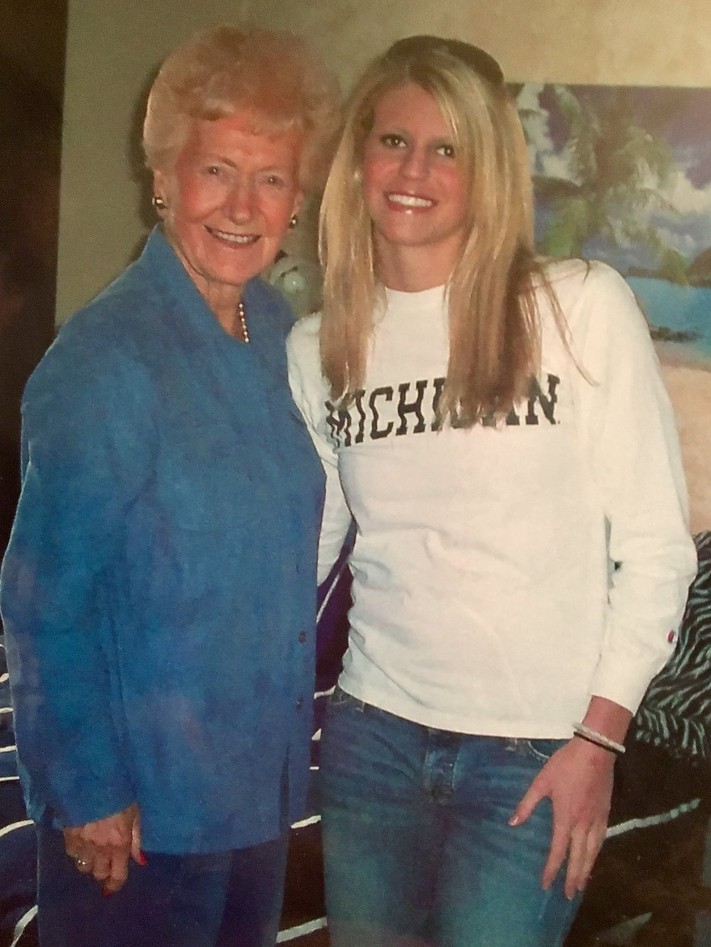 Grandma visited UofM in 2007.