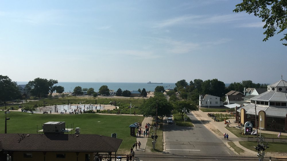 St Joseph, Michigan (just across the river from Benton, Harbor)