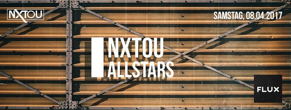 After the huge first episode we are going to start in to the second edition of NXTOU Allstars with a lot of awesome acts and some specials for our friends, guests and everybody who supports us! LINE UP Flux. ► NUSHA (DEFECTED RECORDS | 1TRAX) ► ELIAS TZIKAS (NOIR MUSIC | MODA BLACK) ► JULIAN WASSERMANN (STIL VOR TALENT | KATERMUKKE) ► FUTURE PROOF (WHATIPLAY | MOONBOOTIQUE) ► MASAJE (STAMINA | NXTOU) Lumen. ► #makelandshutgreatagain ;-) www.nxtou.de