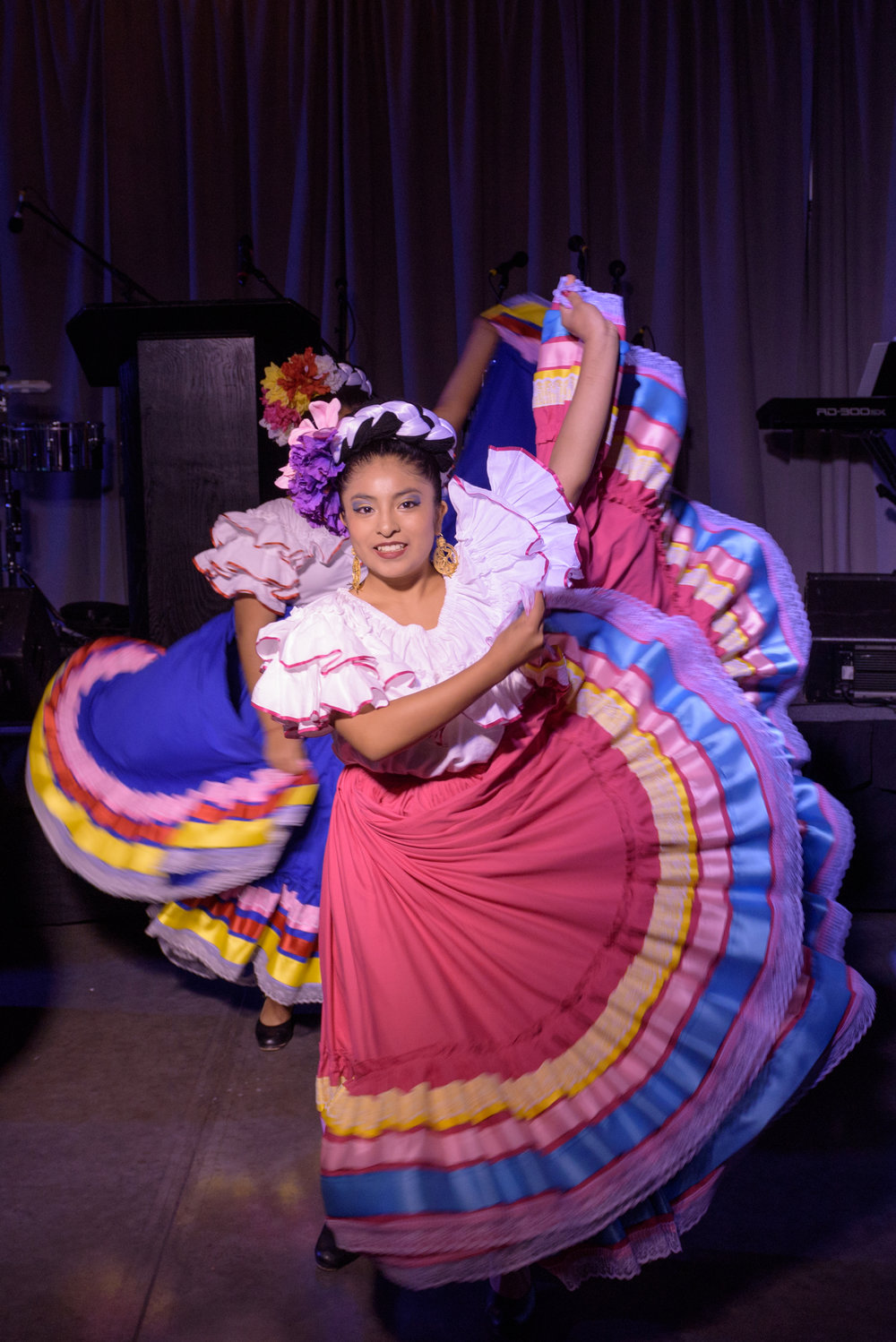 Ballet Folklórico's Corazones Alegres were one of the talented groups that provided entertainment at Noche Bella.