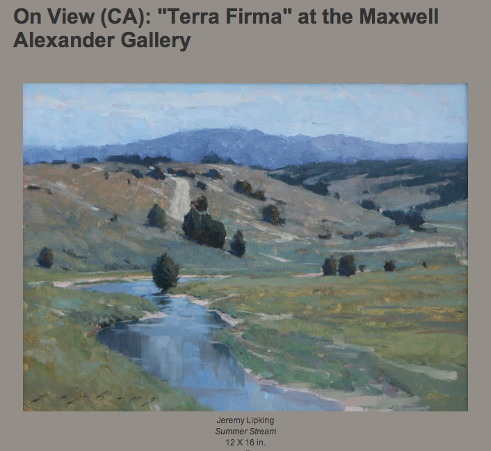 "On View (CA): ""Terra Firma"" at the Maxwell Alexander Gallery"