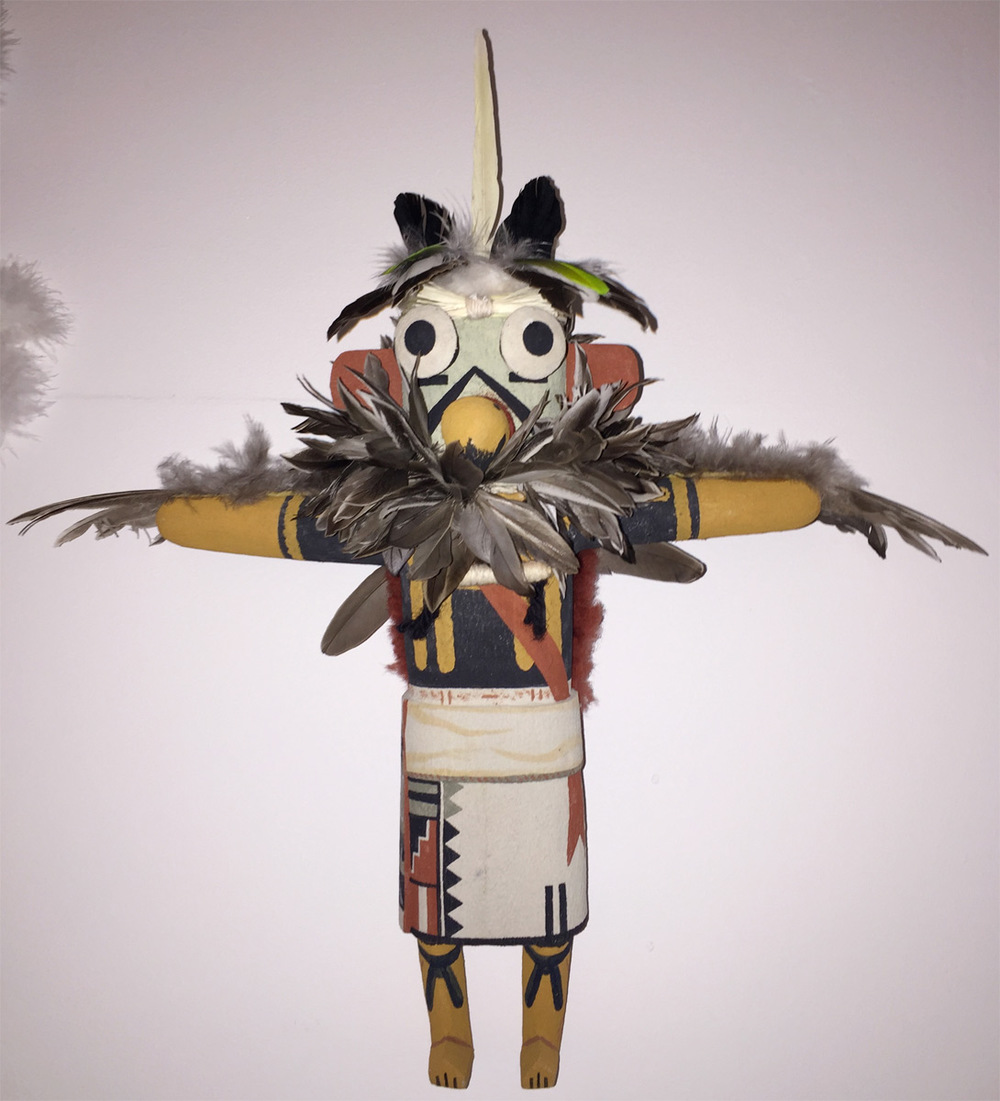 (SOLD) Contemporary Hopi Kachina
