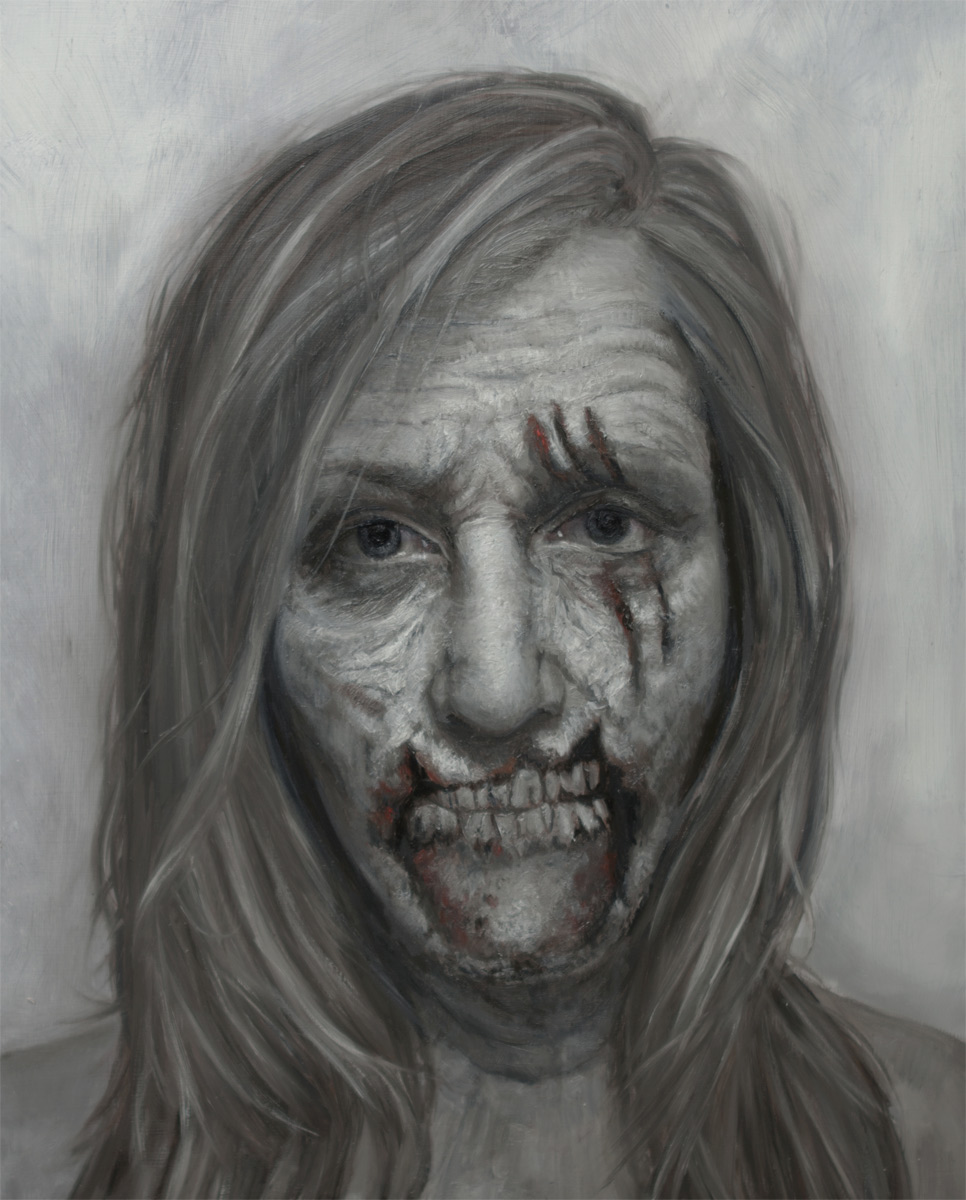 "Shana Levenson ""Self Portrait at age 35"" Oil"