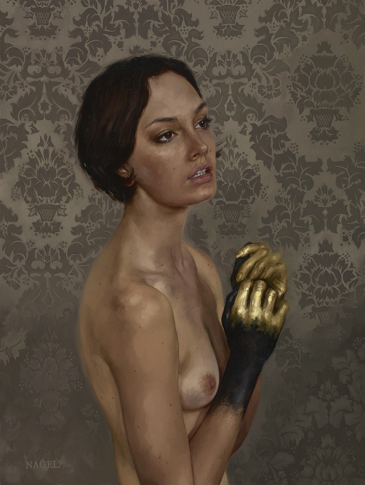 "(SOLD) Aaron Nagel ""Luster"" 24″x18″ Oil"
