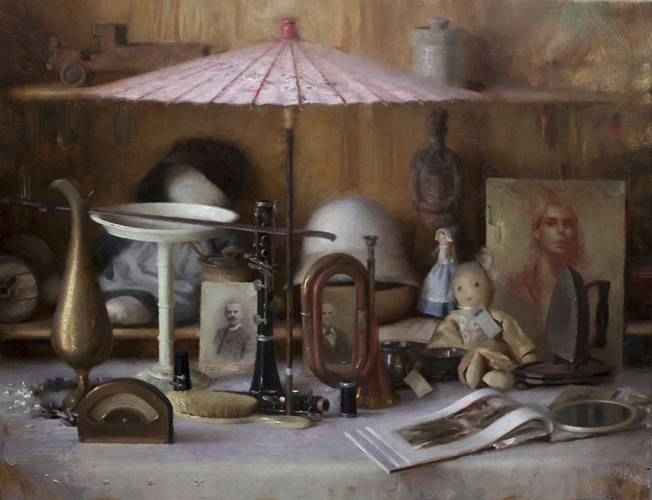 "Todorovitch ""Arrangements"" 28″x36″ Oil"