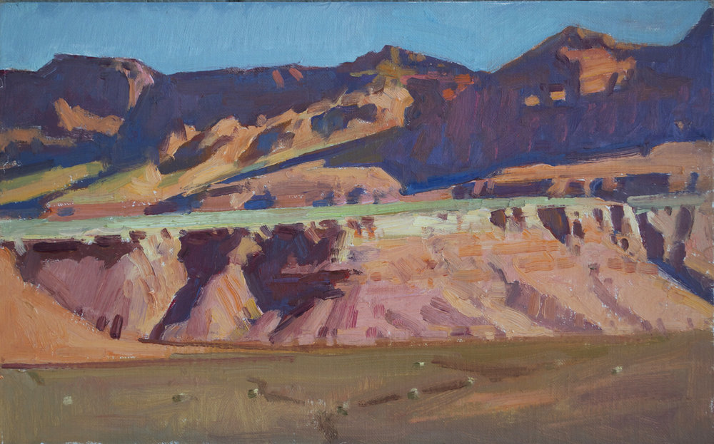 "Ray Roberts ""Vermillion Cliffs"" Oil 10″x16″"