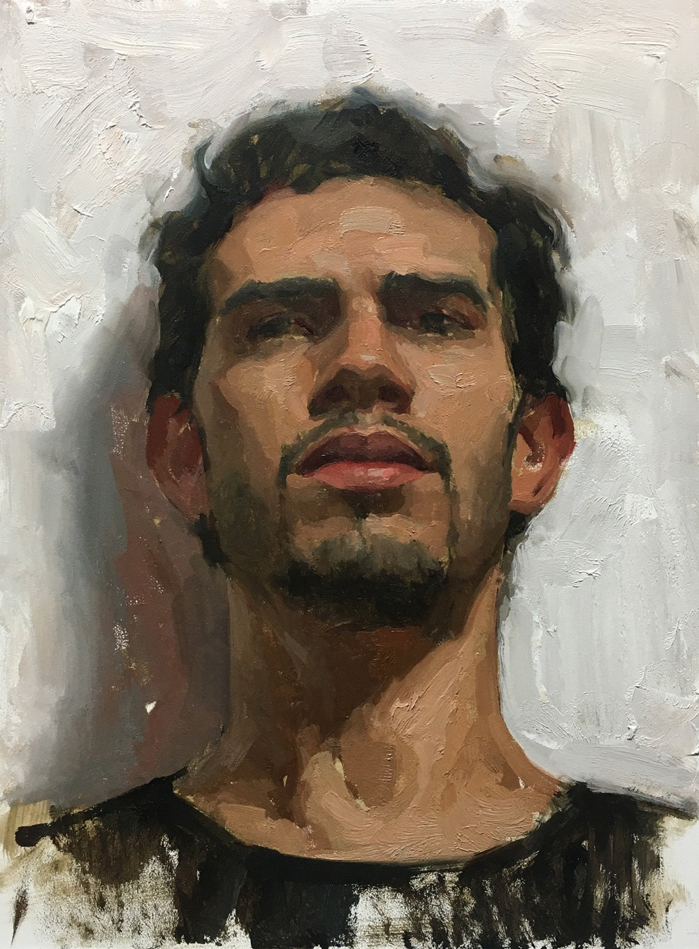 "Sean Cheetham ""Giuseppe 2"" Oil 12""x9"" (Unframed)"