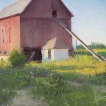 """Josh Clare, """"July,"""" oil, 12x16"""