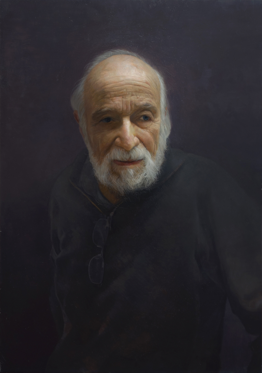 "David Kassan ""Burt Silverman"" 30""x20"" Oil"