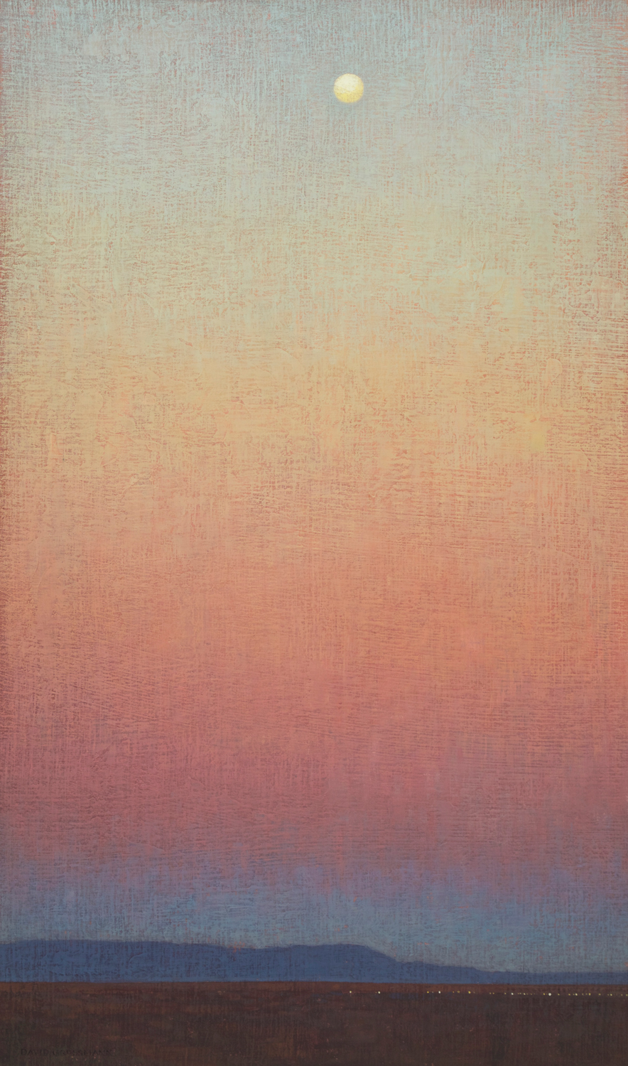 "David Grossmann ""Morning Sky Transitions"" 34""x20"" Oil"