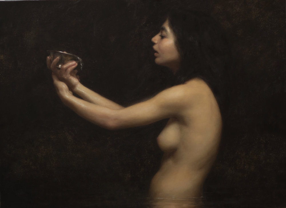 "Joshua LaRock ""Thirst"" 28""x38"" Oil"