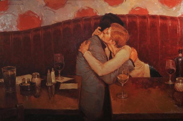 "Joseph Lorusso ""Your Best Table"" 24""x36"" Oil"