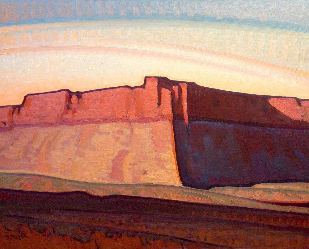 "Brett Allen Johnson ""Utah Bluffs"" 16""x20"" Oil"