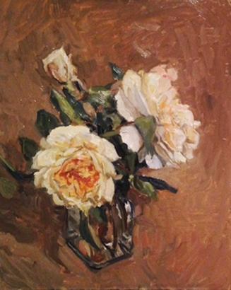 "Rachel Personett ""Garden Roses"" 11""x9"""