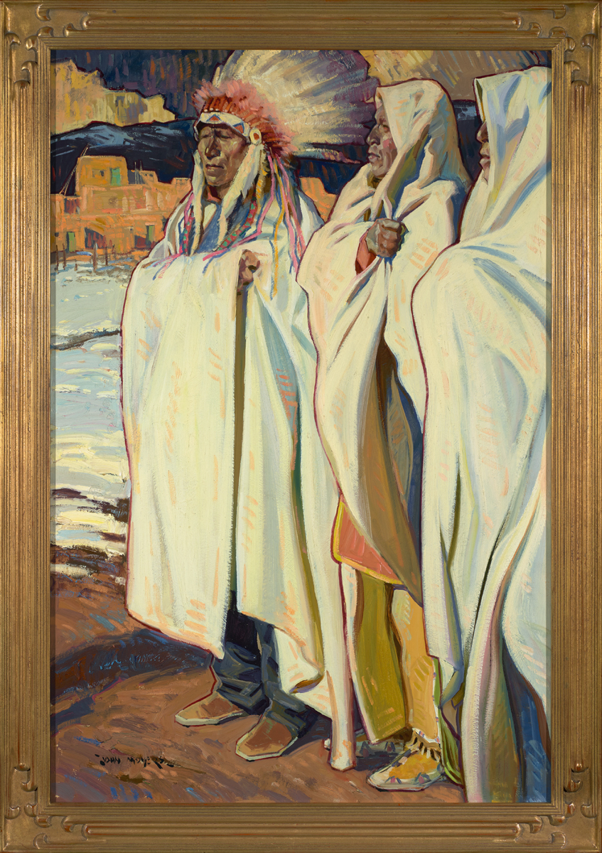 "John Moyers ""Tres Hermanos"" 36""x24"" Oil"