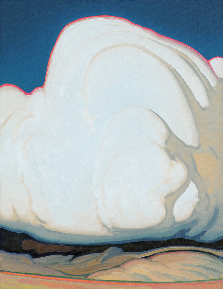 "(SOLD) Brett Allen Johnson ""Clouds on the Plateau"" 18""x14"" Oil"