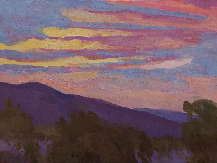 "Eric Merrell ""Shimmering Stillness"" 12""x16"" Oil"