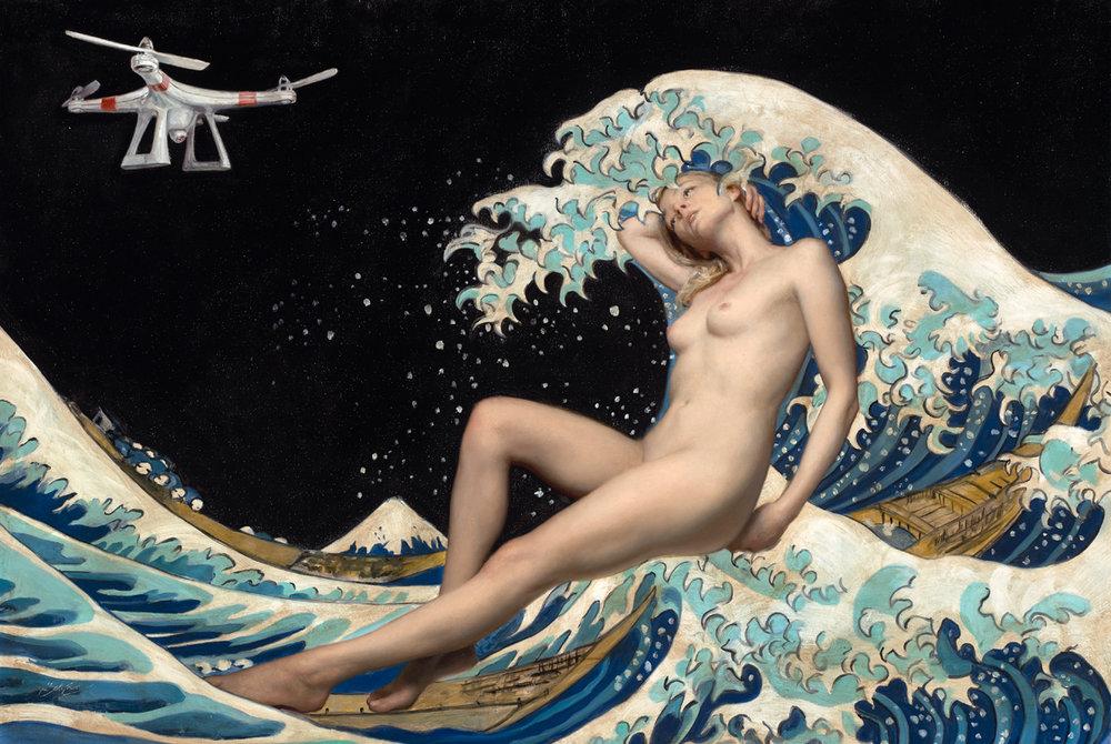 "(SOLD) ""Of Venus"" 31""x46"" Oil"