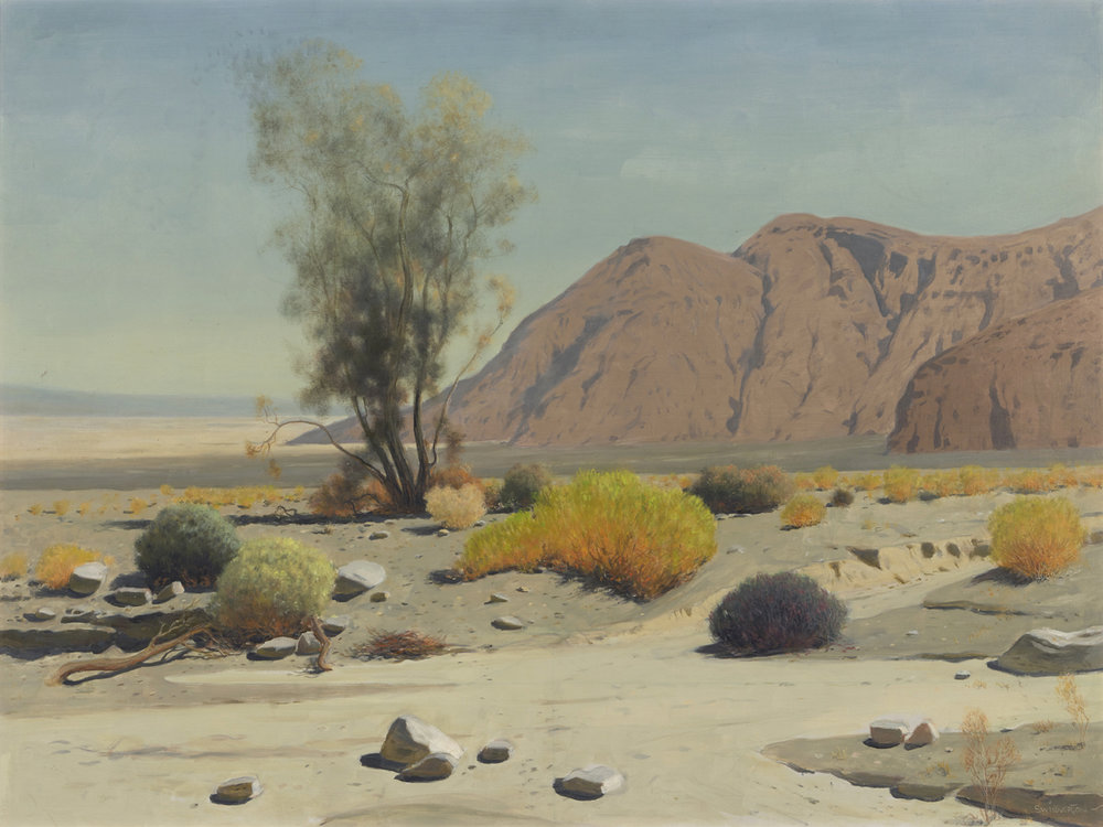 "James Swinnerton ""Desert Landscape"" 30""x40"" Oil"