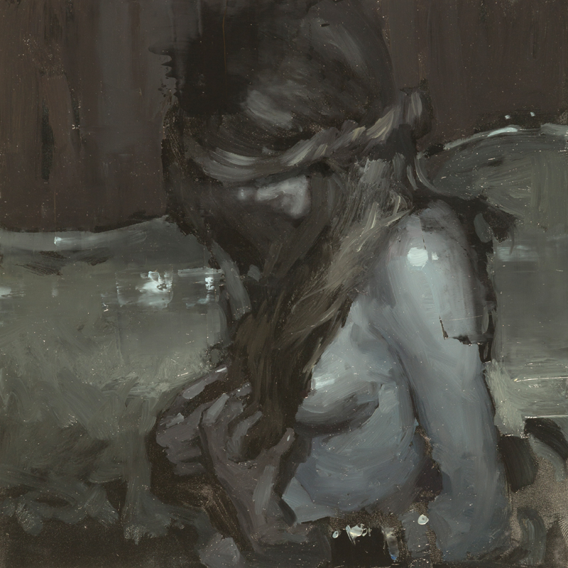 """Portrait Study #24"" 6""x6"" Oil"
