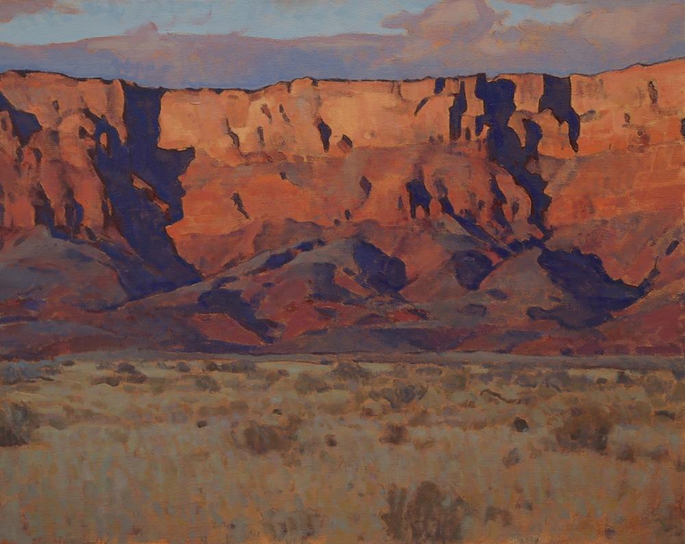 """(SOLD) """"Vermillion Cliffs"""" 24""""x30"""" Oil"""