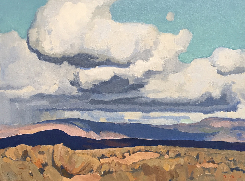 "(SOLD) ""October, Wasatch County"" 12""x16"" Oil"