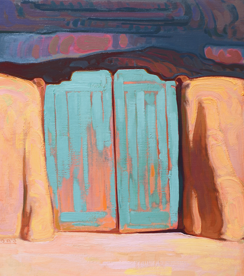"(SOLD) ""Gateway"" 20""x16"" Oil"