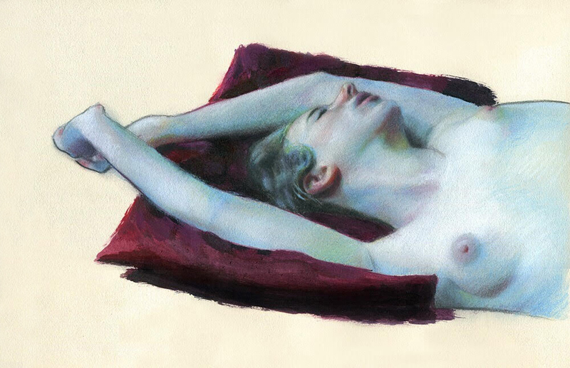 "Andy Espinoza ""Reclining Figure"""