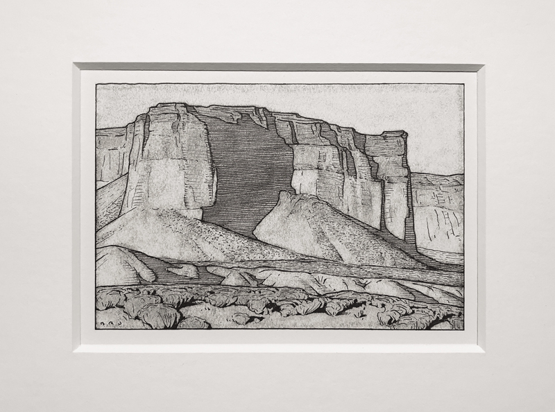"(SOLD) Brett Allen Johnson ""Striped Canyon"""