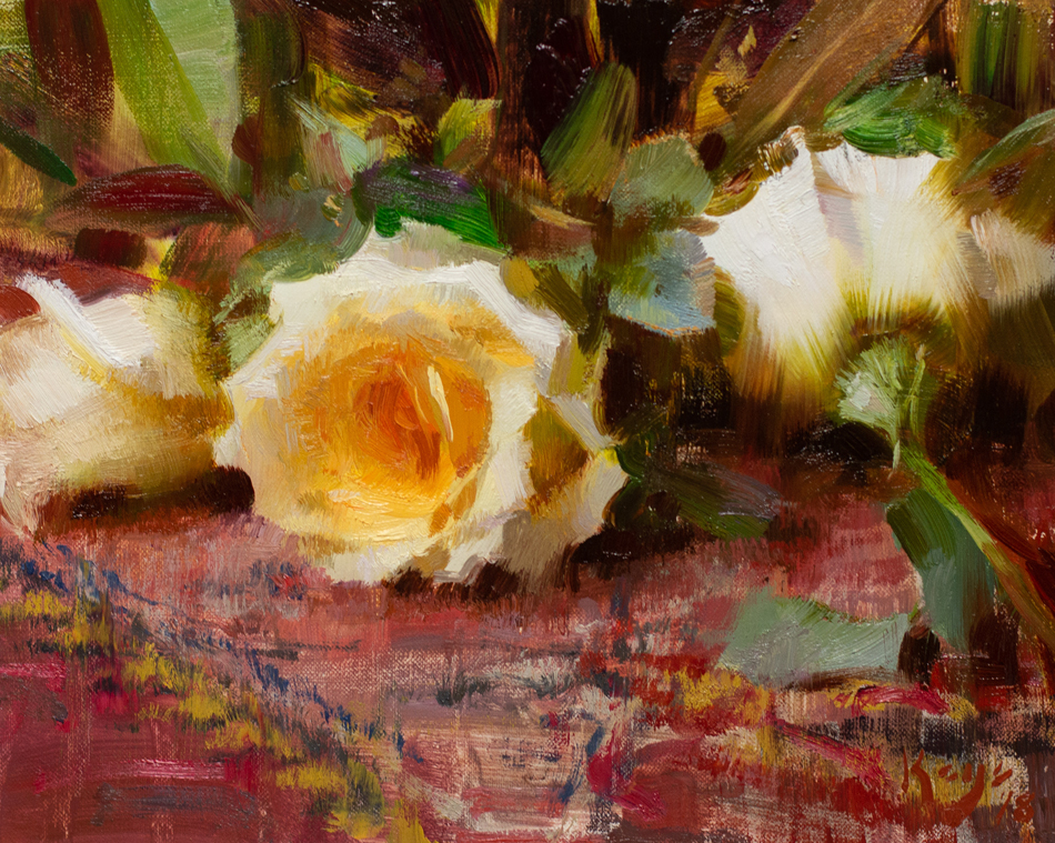 "(SOLD) Daniel Keys ""Golden Roses"""
