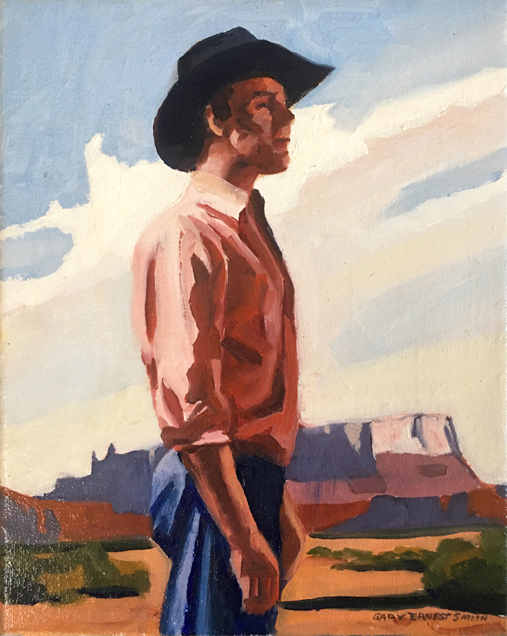 "Gary Ernest Smith ""Man and Mesa"""